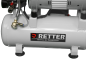 Preview: RETTER RT1008 Silent Flüster Kompressor Mini Kompressor