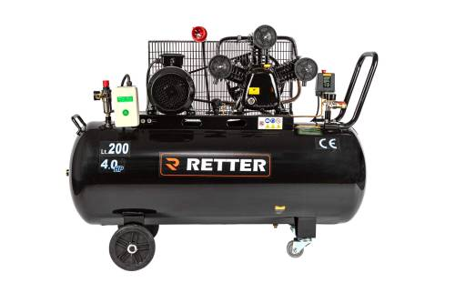 RETTER RT4200 Kompressor, 200L 10Bar