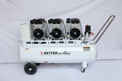RETTER RT1120 Flüster Kompressor 120 L / 8 Bar